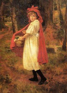 Red Riding Hood George Hillyard Swinstead (1860 – 1926, English)