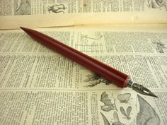 Vintage Pen With Feather