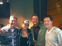 Miranda with Tony and Kris and friend Norbert