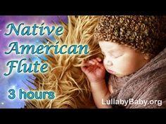 ☆ 3 HOURS ☆ NATIVE AMERICAN FLUTE ♫ Baby Bedtime Sleep Music ~ Best Lullaby Sleep Songs - YouTube