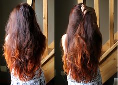 Maugenated: Cheveux henné