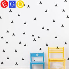 New hot Removable Cartoon Small tent vinyl diy decorative wall stickers for Children kids rooms bedroom home decor wall decals