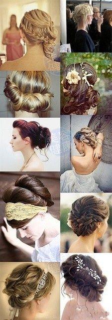 """Prom"" hair"