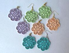 Paper Quilling Earrings Designs By Barbara - Life Chilli