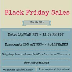 www.hattache.com  - BlackFriday Sales 2014