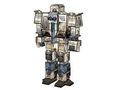 Classic BattleTech - Matador Free Mech Paper Model Download - http://www.papercraftsquare.com/classic-battletech-matador-free-mech-paper-model-download.html#Battletech, #ClassicBattleTech, #Matador, #Mech