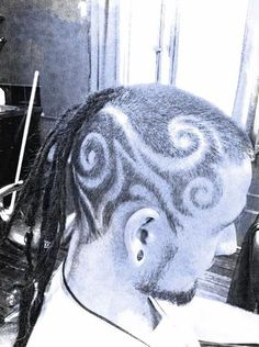 Hair tattoo :D   Made by Angela @ Wildilocks www.wildilocks.com