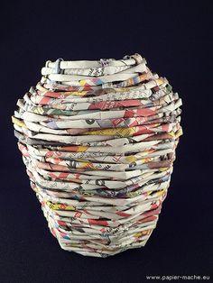 Paper vase by Joanna Jedrzejewska, via Flickr