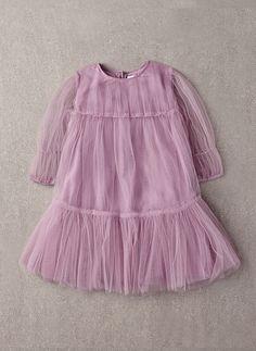 Nellystella vestido de Alice AMOR en hierba de la lavanda - N15F004 - Hola Alyss - de diseño para niños Fashion Boutique