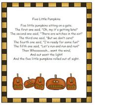 Pumpkin Poem and Poetry Center Pack