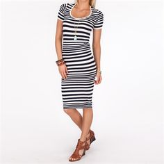 French Connection Women's Contemporary Marissa Striped Dress #VonMaur #FrenchConnection #White #Striped