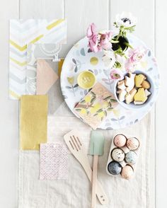 Make the most of your home with decorating inspiration, tips and advice from House Beautiful. Inspiration Boards, Style Inspiration, Dove Grey, Natural Linen, Spring Style, Happy Easter, Beautiful Homes, Backdrops, Contrast