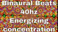 This Binaural beat video is in frequenz of [Energizing, increasing concentration] Sit or lie comfortably. Binaural Beats, Brain Waves, Meditation Music, Therapy, Medical, Activities, Medicine, Healing, Med School