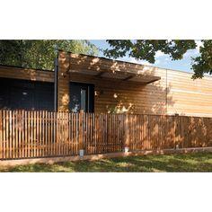 Portillon en bois Tiya 100 x h.90 cm - CASTORAMA Gate, Pergola, Pool Ideas, Yard Ideas, New Homes, Palette, Outdoor Structures, Landscape, Fences