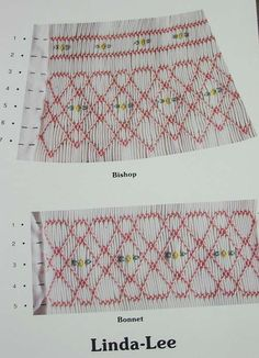 "TJC - ""Linda-Lee"", Smocking Pattern by Terry Collins"