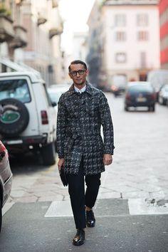Pitti Moda - sprezzaturaeleganza: Simone Marchetti