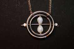 Time Turner • Free tutorial with pictures on how to make a chain necklace in under 40 minutes