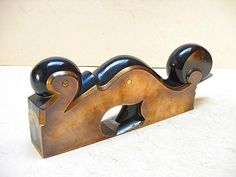 SPECTACULAR, SKEW MOUTH GUNMETAL/EBONY SHOULDER PLANE