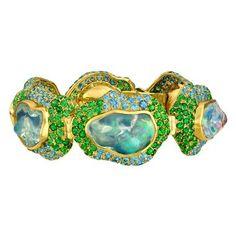 Paula Crevoshay Sabrina opal bracelet