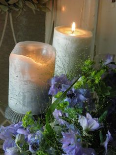 Always candles....