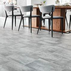 673 Non Slip Stone Effect Vinyl Flooring - Vinyl Flooring UK Vinyl Flooring Uk, Stone Flooring, Natural Stones, Living Spaces, Tiles, Sweet Home, Modern, House, Furniture