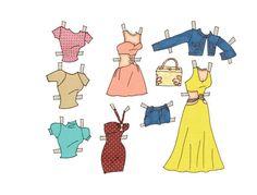 Alejandra Paper Doll - Katerine Coss - Picasa Webalbum