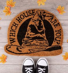 The sorting hat might decide which Hogwarts house you are. A truly magical addition to any Harry Potter fan's home. Harry Potter Which House, Which Hogwarts House, Harry Potter Sorting Hat, Harry Potter Bedroom, Harry Potter Merchandise, My First Apartment, Geek Crafts, Cool Gifts, Geek Stuff