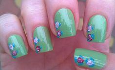 Romantic pastel flower nail art https://www.youtube.com/watch?v=YBmbNdBfVB8
