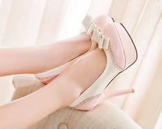 Cute Bow Platform Heels · hhotaru ·