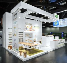 Provamel exhibition stand