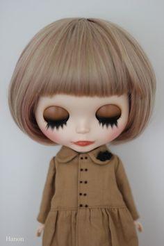 HANON custom blythe by HANON satomi, via Flickr
