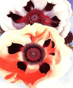 Georgia O'Keeffe - Poppies
