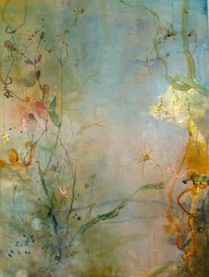 Oh heck!! Is this wallpaper or art? It's lovely. . . Deedra Ludwig