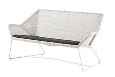Cane-line Breeze – Dänisches Design für Garten und Terrasse #Cane_line #Caneline #Design #Gartenmöbel #Terrassenmöbel #Breeze #Seater #Sofa #white #grey