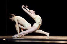 "Penny Saunders and Pablo Piantino of Hubbard Street Dance Chicago perform Jiri Kylian's ""Petite Mort. Modern Dance, Contemporary Dance, Ballet Theater, Theatre, Hubbard Street, Dance Movement, Street Dance, Yoga, Acro"