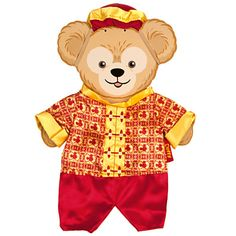 Duffy the Disney Bear China Costume -- 17'' H