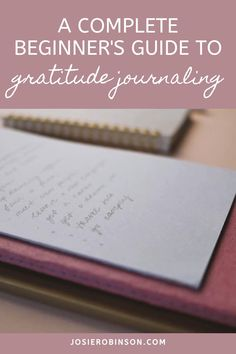 How to start a gratitude journal practice to add more joy and positivity to your day! // Creative Gratitude Journal Ideas From The GRATITUDE JAR #gratitude #gratitudeournal #positivevibes