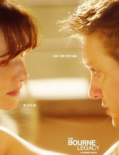 Jeremy Renner and Rachel  Weiz The Bourne Legacy. Mostly Action a touch of Romance.