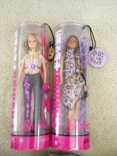 Barbie Fashion Fever Kayla Doll Animal Print Collection and Bonus Doll 2006 2005 | eBay