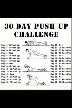 June Push Up Challenge