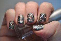 Red Carpet Manicure 'My Inspiration' with Candy Lacquer 'Midnight Gems' by TartanHearts, via Flickr