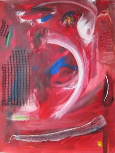 Rood 1 Painting, Art, Shop Signs, Painting Art, Paintings, Kunst, Paint, Draw, Art Education
