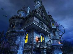 haunted house - Cerca con Google