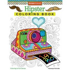 hipster coloring book fox chapel publishing - Michaels Coloring Books