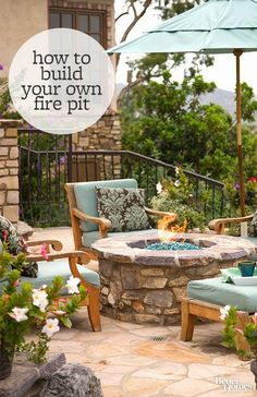 Best Diy Projects: Update your backyard with a DIY fire pit