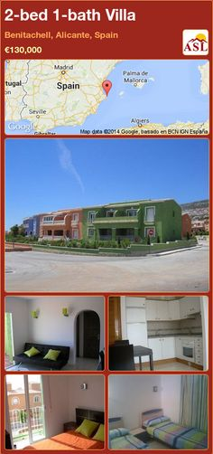 2-bed 1-bath Villa in Benitachell, Alicante, Spain ►€130,000 #PropertyForSaleInSpain