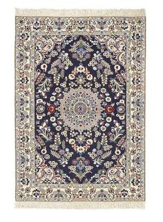Nain extra fine, wool and silk - Iran 147 x 98  I Amir Rasty & filles - Oriental carpets in Geneva