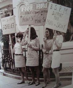 Support the Mini Skirt