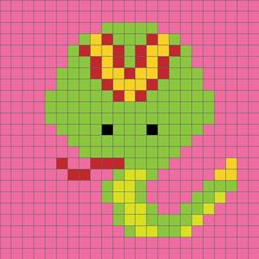 Zoodiacs snake c2c graph | www.1dogwoof.com