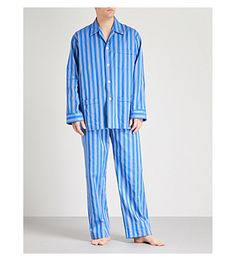 578ed8182e DEREK ROSE Royal 208 striped cotton pyjama set.  derekrose  cloth  .  ModeSens · Derek Rose Men · DEREK ROSE Arran 20 Classic multistriped brushed -cotton ...